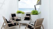 Sitting area - Recif Attitude hotel Mauritius