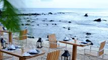 Restaurant's terrace - Recif Attitude hotel Mauritius