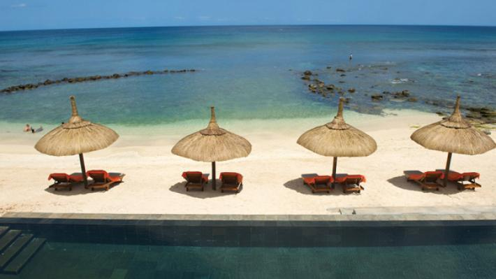 Beach, Recif Attitude Hotel, Mauritius