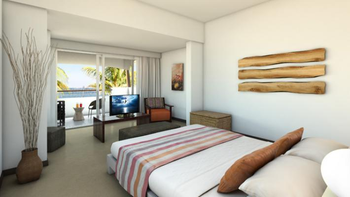 Bedroom, Recif Attitude Hotel, Mauritius